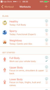fitness apps iphone android