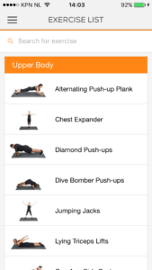 beste fitness apps voor iphone