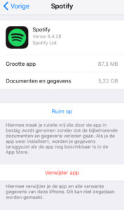 cache legen iphone