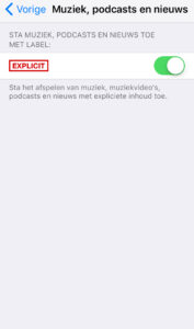 websites blokkeren iphone